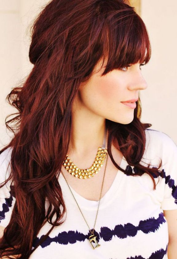 Best Haircuts For Wavy Hair Images On Pinterest Hairstyle - Hairstyles for dark brown thick hair