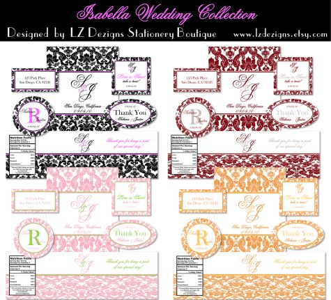 Best Wedding Labels  Wedding Label Templates Images On