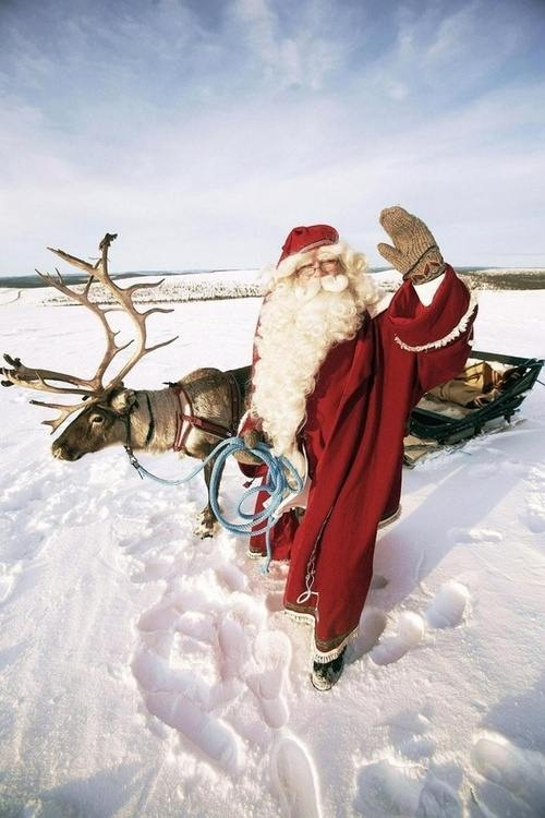 Greetings from Father Christmas