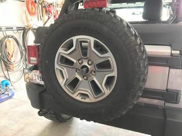 Jeep Wrangler Rubicon Spare (Cedar Bluff) $225