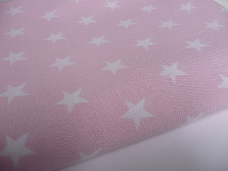 47. White stars on light pink