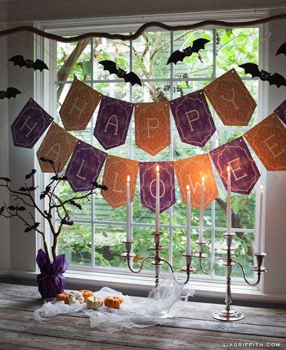 Happy Halloween Tips On Home Decoration 1: Best 25+ Halloween Banner Ideas On Pinterest