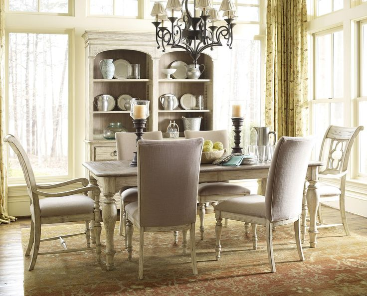 Weatherford 7 Piece Dining Set by Kincaid Furniture55 best Dining Room images on Pinterest   Dining room furniture  . Kincaid Stonewater Tall Dining Table. Home Design Ideas