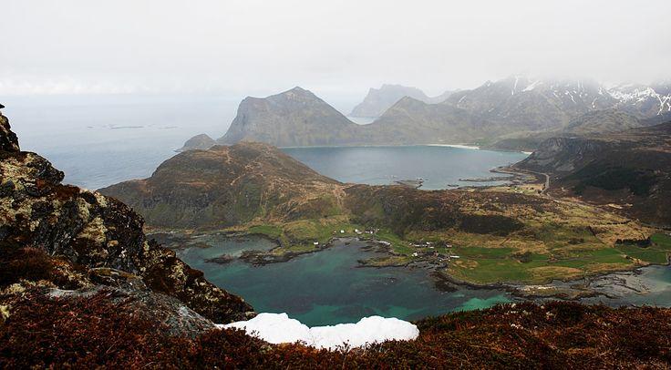 https://flic.kr/p/HCpmGM | Offersøya view | Offersøya view, Lofoten islands.  Six months in Norway.