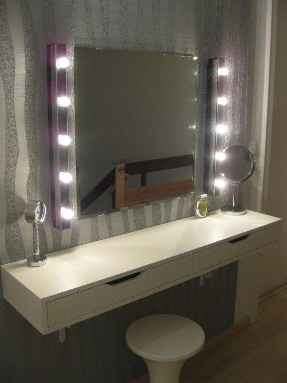 die besten 25 frisiertisch ideen auf pinterest spiegel. Black Bedroom Furniture Sets. Home Design Ideas