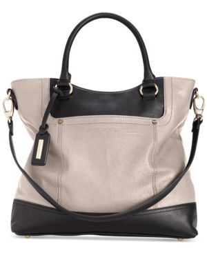 Tignanello Smooth Operator Leather Shopper - Brown