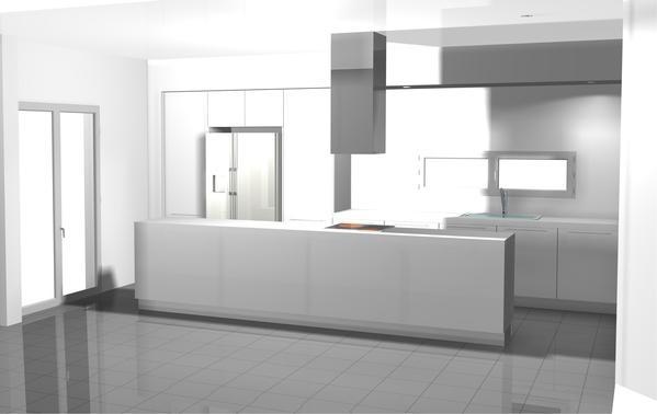 Interior Design | Cuisines + housing by Anna Ginos , via Behance
