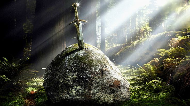 The legend of Excalibur is similar to the Irish hero, Cú Chulainn who had a sword named Caladbolg; or to Norse Legend of Sigurd. All these swords were made by an elf. Sometimes he is named Wayland (Saxon myth); and Gofannon (Celtic myth).