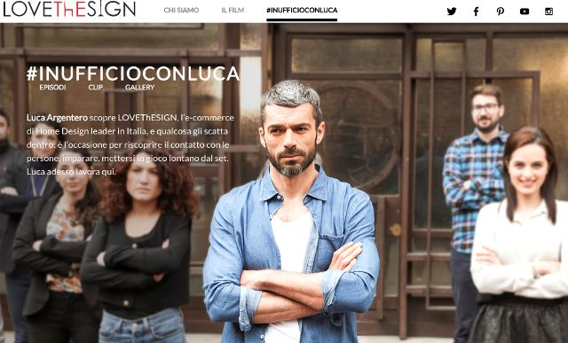 #inufficioconluca è un'operazione che nasce da un interrogativo: quali sono le domande più comuni di chi naviga in un e-commerce di home design e, in particolare, su #LOVEThESIGN? La #webserie  è diffusa esclusivamente #online, via #Youtube, #Facebook #startup  #web #serie #argentero #ufficio