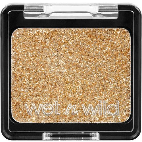 Wet N Wild Color Icon Glitter Eyeshadow Single, 352B Brass, 0.5 oz - my favorite glitter for face painting, and it costs less than $1