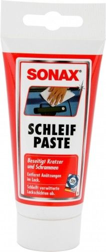 SONAX PASTA ABRASIVA RIMUOVI GRAFFI ML. 75 http://www.decariashop.it/prodotti-per-auto/15356-sonax-pasta-abrasiva-rimuovi-graffi-ml-75.html