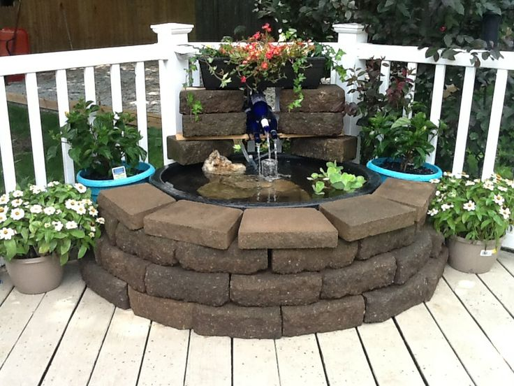 9 best images about wine bottle fountain on pinterest for Wine bottle fountain