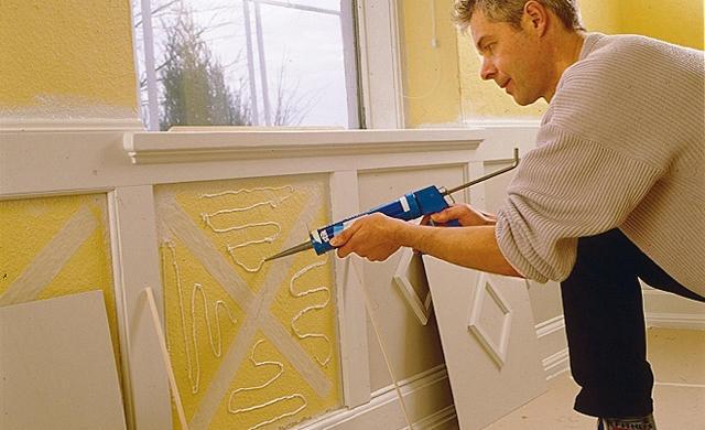 Wandvertäfelung DIY