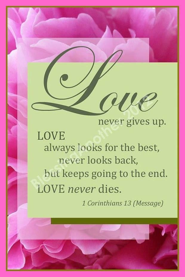 Scripture Art Print Word Art Trust Love Hope God I Corinthians 13 Marriage  Wedding Christian Home Decor 4 X 6