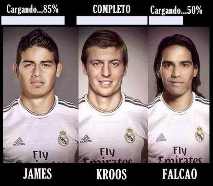 Entérate Cali: Memes de James Rodiguez debutando en el Real Madri...