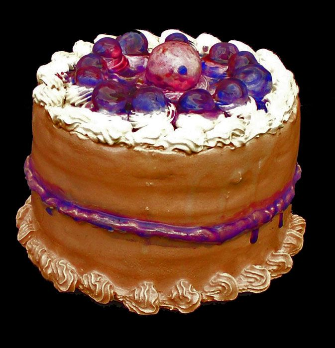 Clay Art Cream Cake Decoration Demo : 23 best images about Clay Cakes on Pinterest Ceramics ...