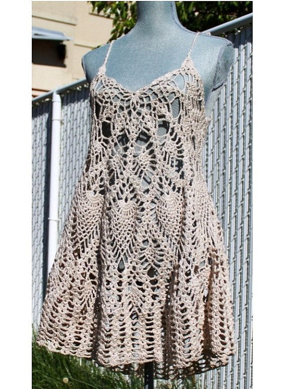Crochet vestido de capa o traje de baño cubre por EasyBreezyCoverUp                                                                                                                                                                                 Más