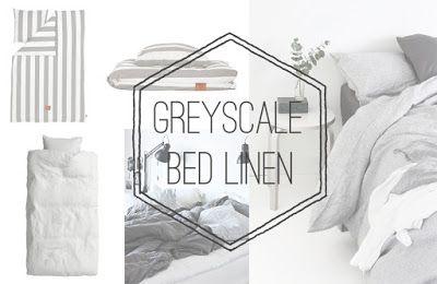 Greyscale Bed Linen - Dsajns.com