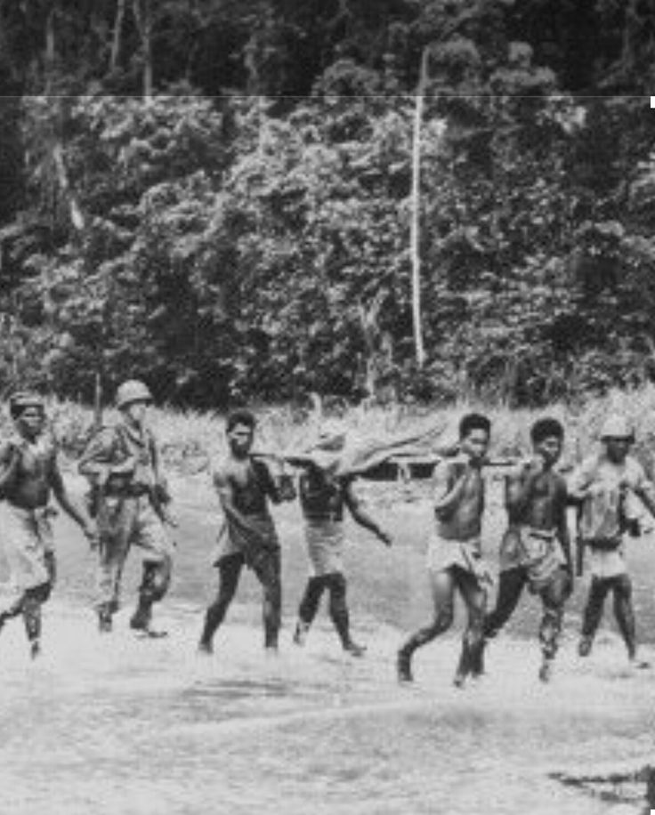Battle of Driniumor river  Aitape  territory New Guinea. 18 th Japanese army with a force of 10 thousand men agaisnt 32nd infantry 112th cavalry regiment