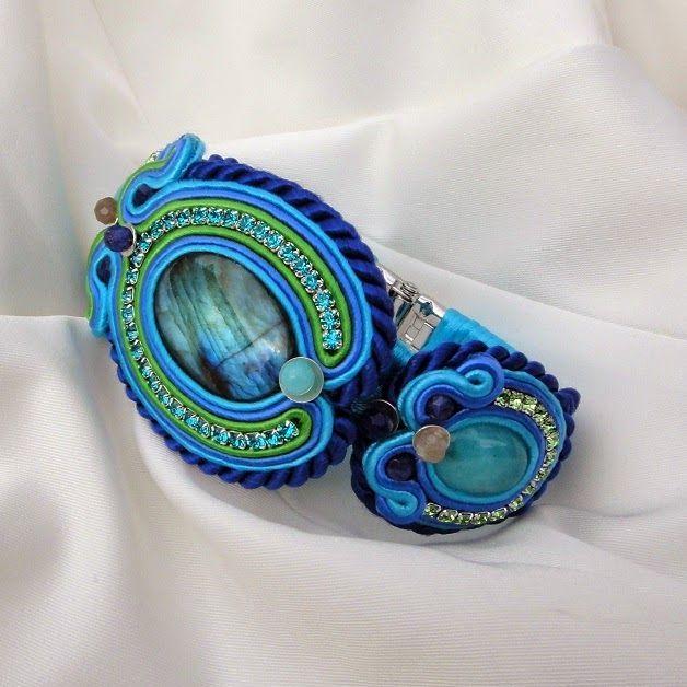 "~ Blue Butterfly ~ biżuteria sutasz - shop: ""Paw"""
