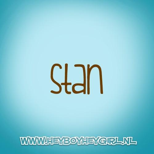 Stan (Voor meer inspiratie, en unieke geboortekaartjes kijk op www.heyboyheygirl.nl)