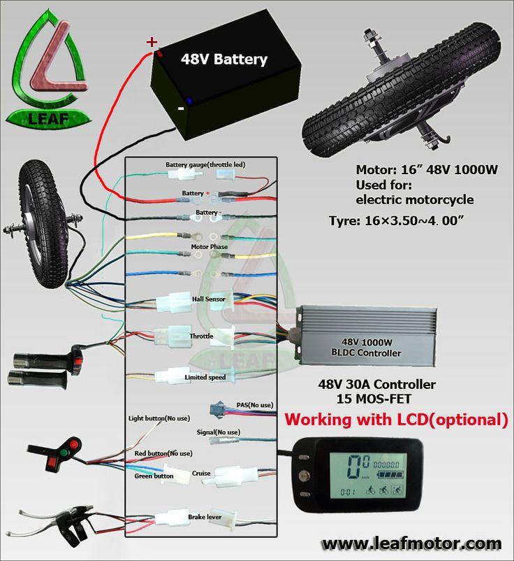 e bike controller wiring diagram wirdig, Schematic