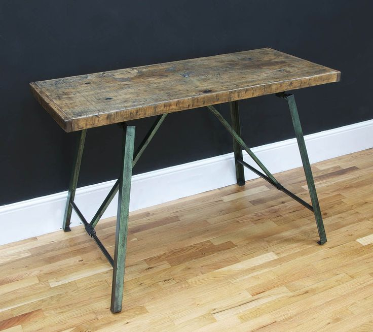Industrial French Workbench Desk - Bring It On Home