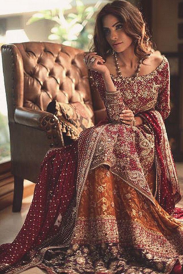 """DESIGNER: Nadia Ellahi CONCEPT AND PHOTOGRAPHY: Rizwan Ul Haq HAIR AND MAKEUP: Nabila MODEL: Fouzia Aman"""