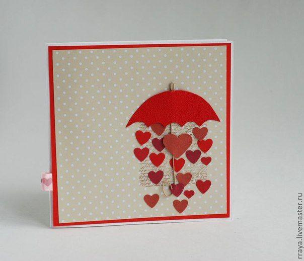 данной зонтик для открыток цветы крупные