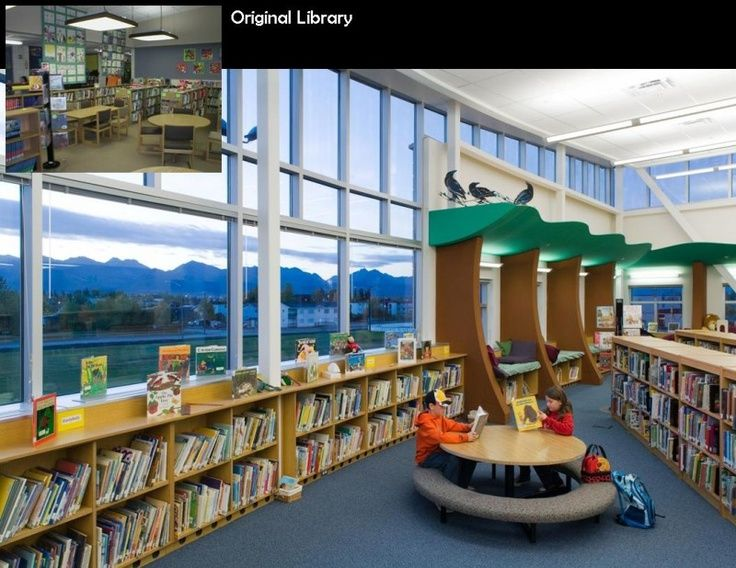 Elementary School Library Design Ideas