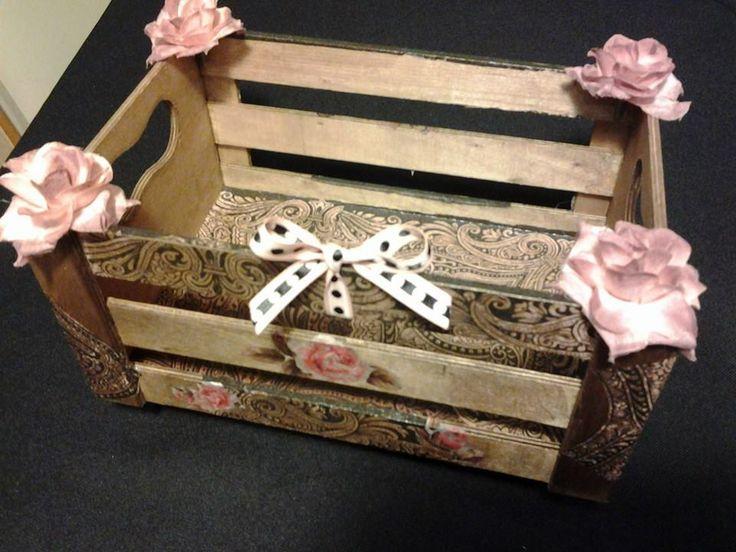 beautiful storage box made by Erifili