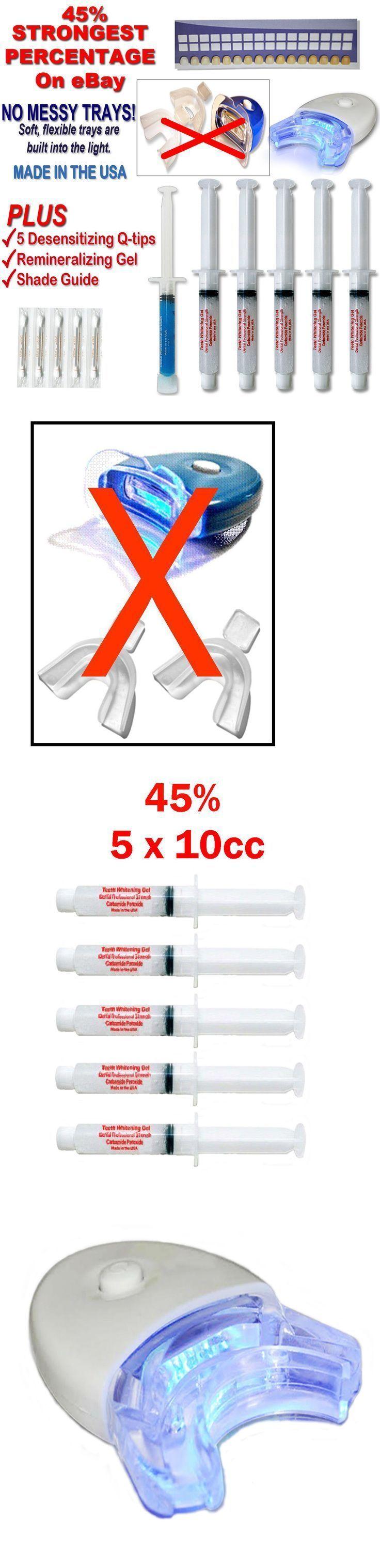 Bleaching: 45% Zahnaufhellung Zahnaufhellung Kit Oral C