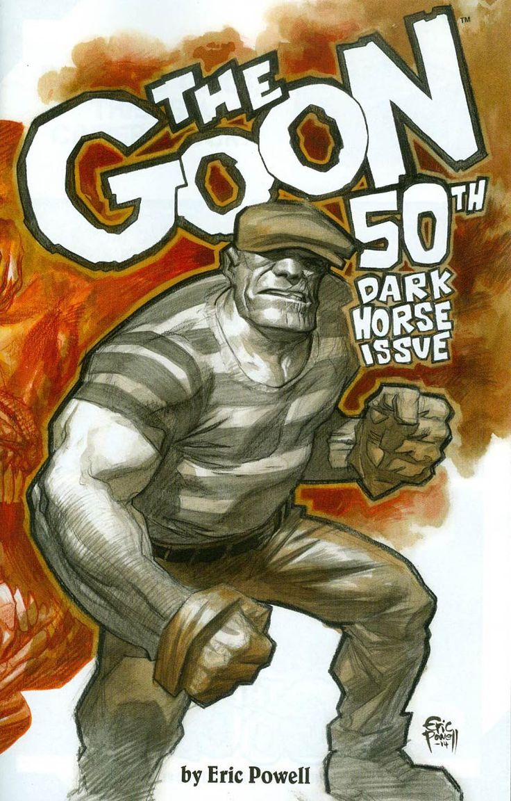 Goon Once Upon A Hard Time 1 Cover B Incentive Eric Powell Wraparound Variant