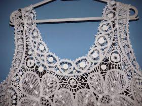 Depois de um período ausente, do blog, mas não do trabalho, volto com um vestido em renda renascença, como sempre um grande prazer ver o t...