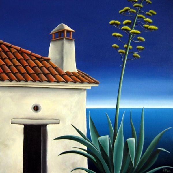 Costa Brava Agave by Diana Adams
