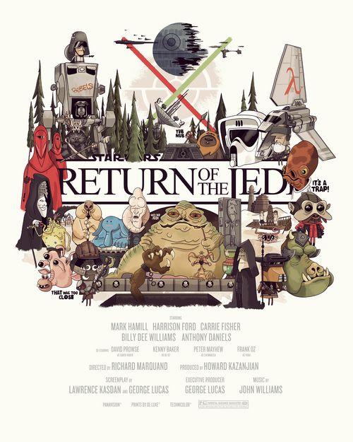 Christopher Lee - Return of the Jedi