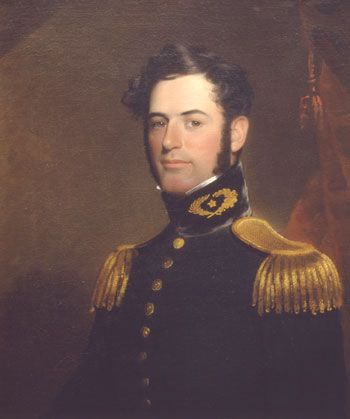Lt. Robert E. Lee, Engineer by William Edward West