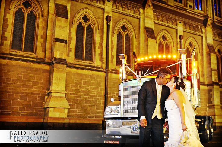 Wedding Photography Melbourne - Wedding Truck - Wedding Cars- Photography By Con Tsioukis of Alex Pavlou Photography  www.alexpavlou.com