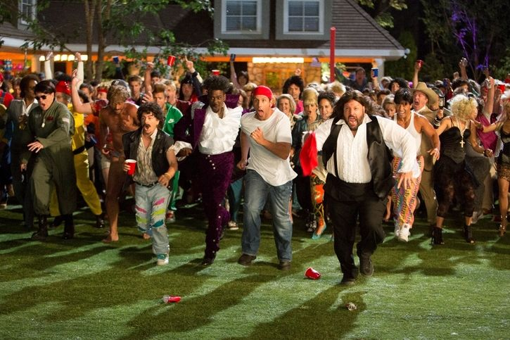 Image Result For Grown Ups 2 The Movie Fight At Party Taylor With