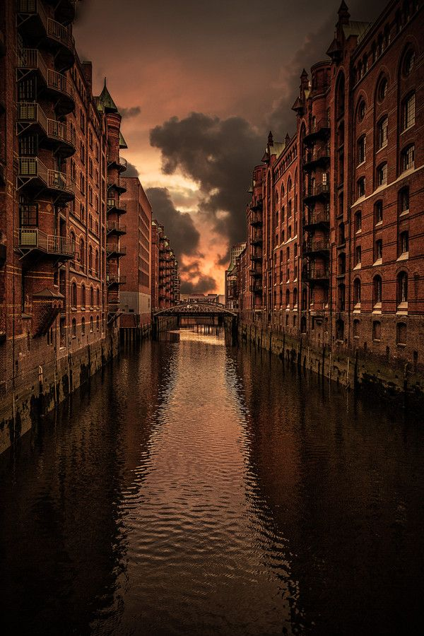 Speicherstadt Hamburg, Germany
