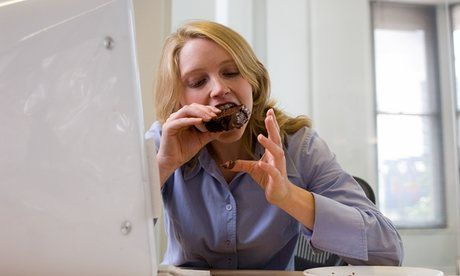 The Royal College of Surgeons says the sugary confections provided by colleagues are causing obesity and tooth-decay. Here's how to steer clear while at work
