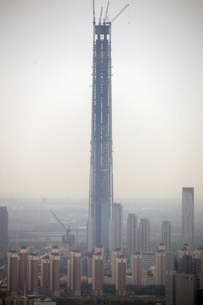 TIANJIN | Goldin Finance 117 | 597m | 1957ft | 117 fl | U/C - Página 98 - SkyscraperCity