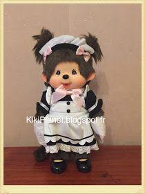 la Monchhichi Be your servent Maid Girl - Réf 259236