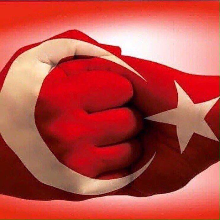 #TÜRKİYE Tek millet, Tek bayrak, Tek vatan, Tek devlet!