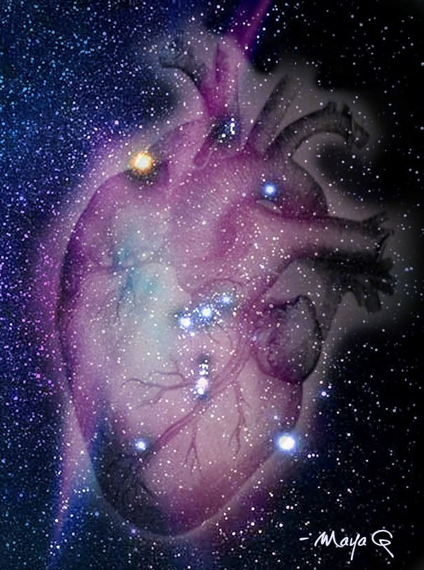 heart of Orion by Maya G. It's almost like an anatomical model.