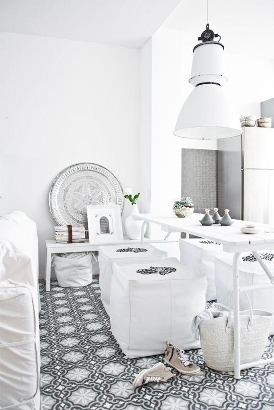 Modern Marokkaanse stijl   Éénig Wonen