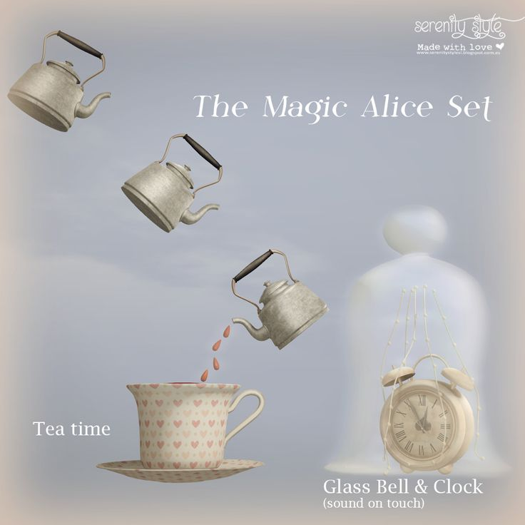 https://flic.kr/p/Srhtev | Serenity Style- The Magic Alice Set | New exclusive for Deco(c)rate April round.  Now the crate has been delivered to the subscriptors but you still can get yours. Just visit one of the Kiosks Locations and buy it !!  All info here Deco(c)rate Web