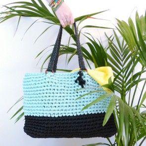 Kit crochet by WoolKiss : Bora-Bora sac à main en crochet