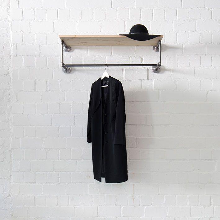 Brickwall Design Garderobe Industrial Industrie Loft