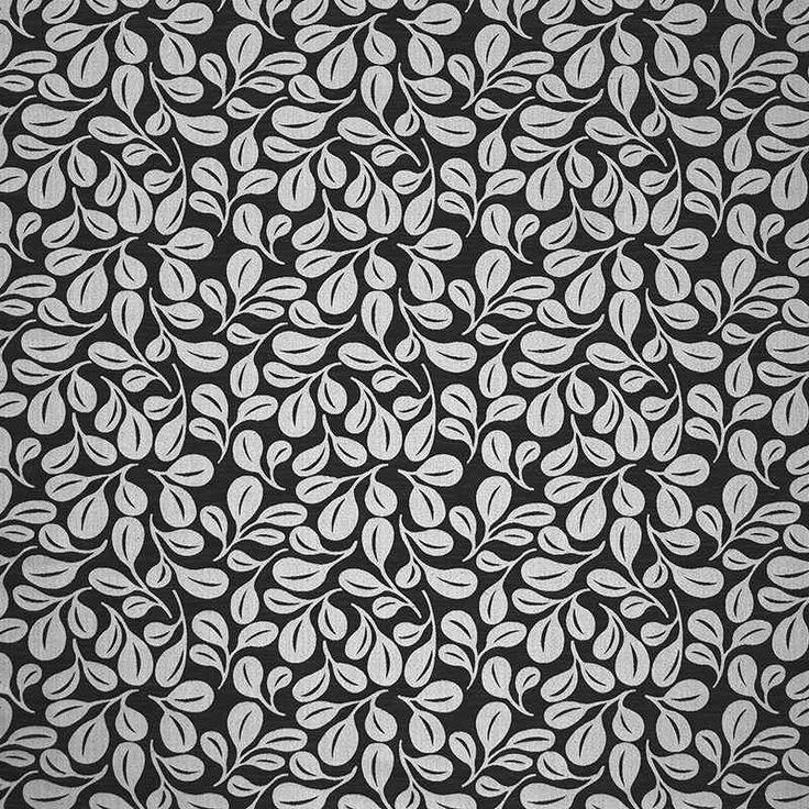 Warwick Fabrics : ETTIENNE, Colour ONYX